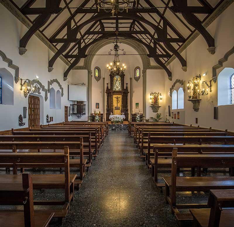 Iglesia de San Rafael en la actualidad