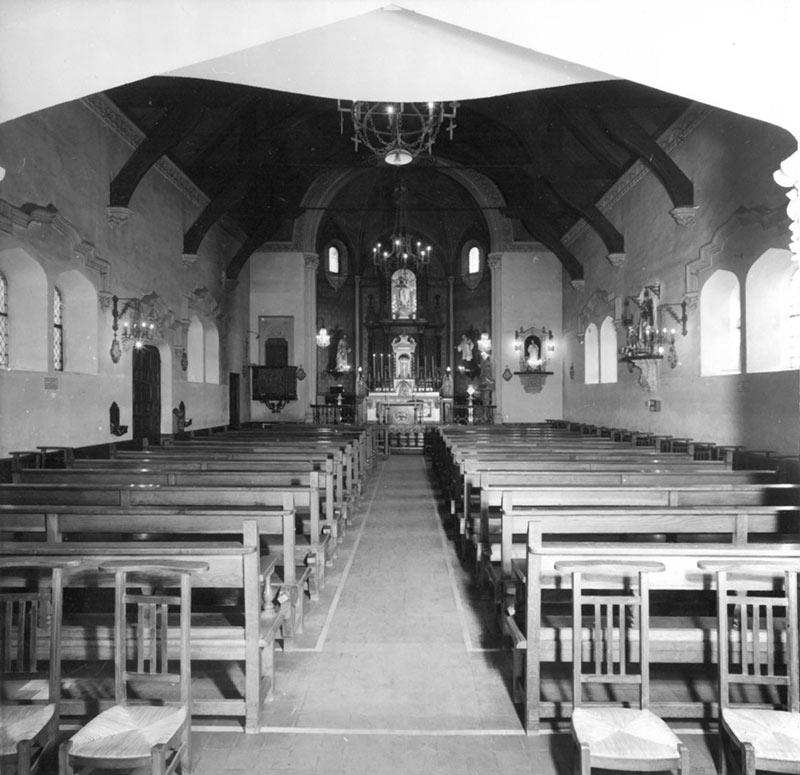 Iglesia de San Rafael antiguamente